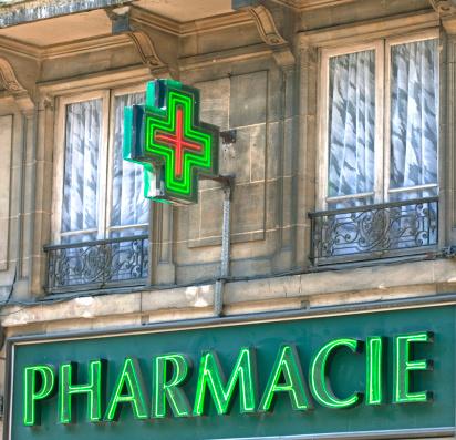 panneau publicitaire pharmacie