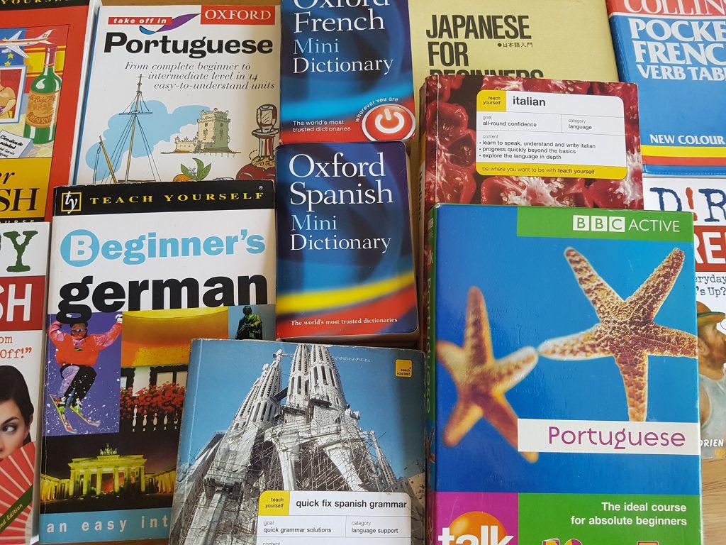 Dictionnaires de langues étrangères pour traduire